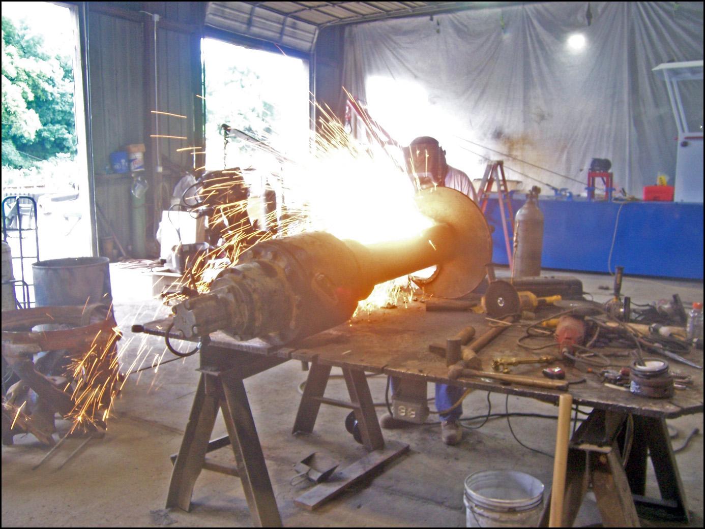 rebuilding a cutterdrive 0615