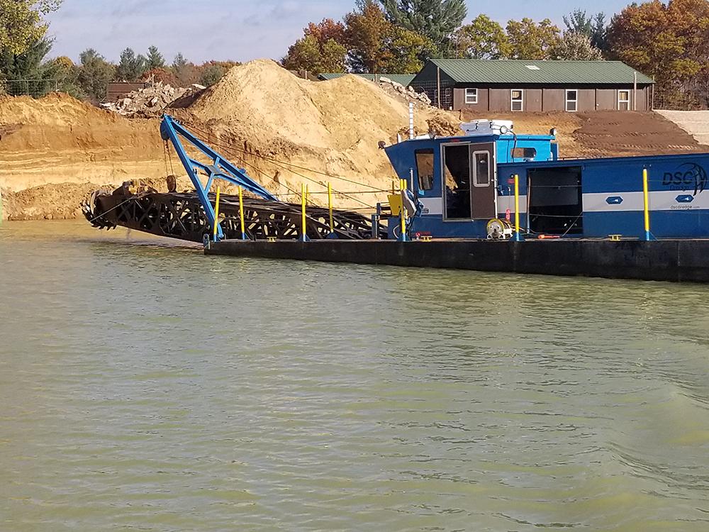 UD457 - Wolverine Dredge Sand Dewatering system